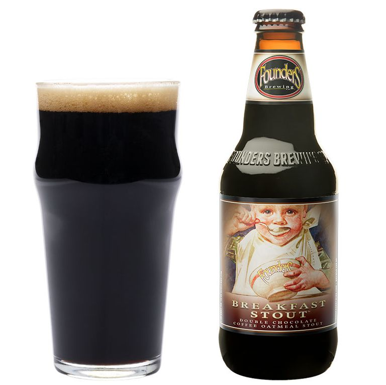 8 особенных сортов пива. Founder's Brewing Company Breakfast Stout