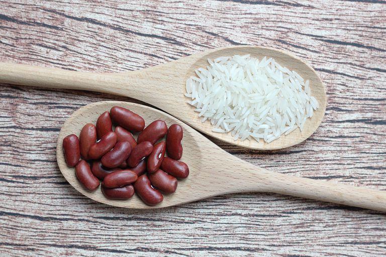 Бобовые и рис