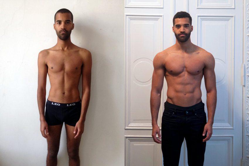 Как худой парень набрал вес