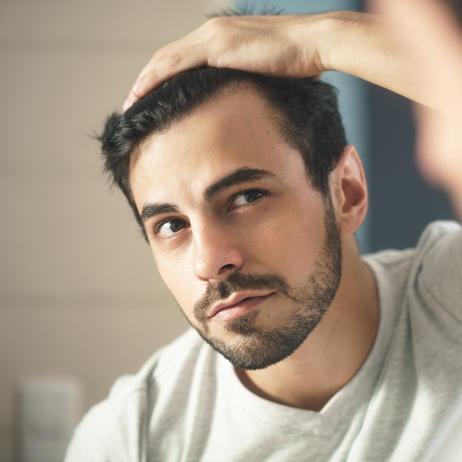 Когда волосы становятся тоньше, тогда говорят о диффузном выпадении волос