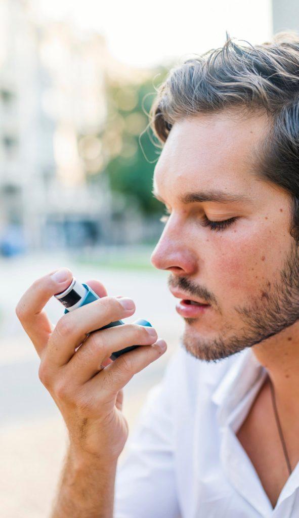 Аллергическая астма может легко развиться от аллергии на пыльцу.